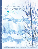 2011-12 Chartiers Center Annual Report
