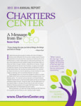 2013-14 Chartiers Center Annual Report
