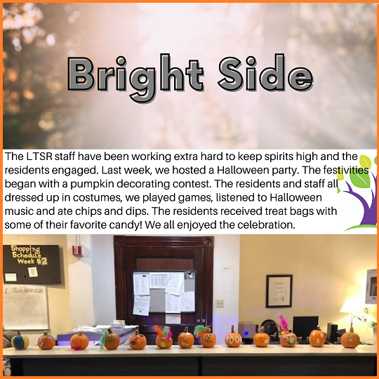 Bright Side Trick or Treat at the LTSR w border