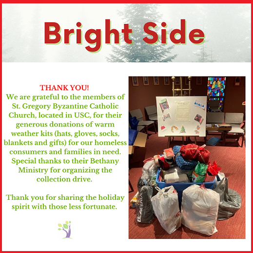 Bright Side St Gregory Byzantine Catholic Church Supports Chartiers Center This Holiday